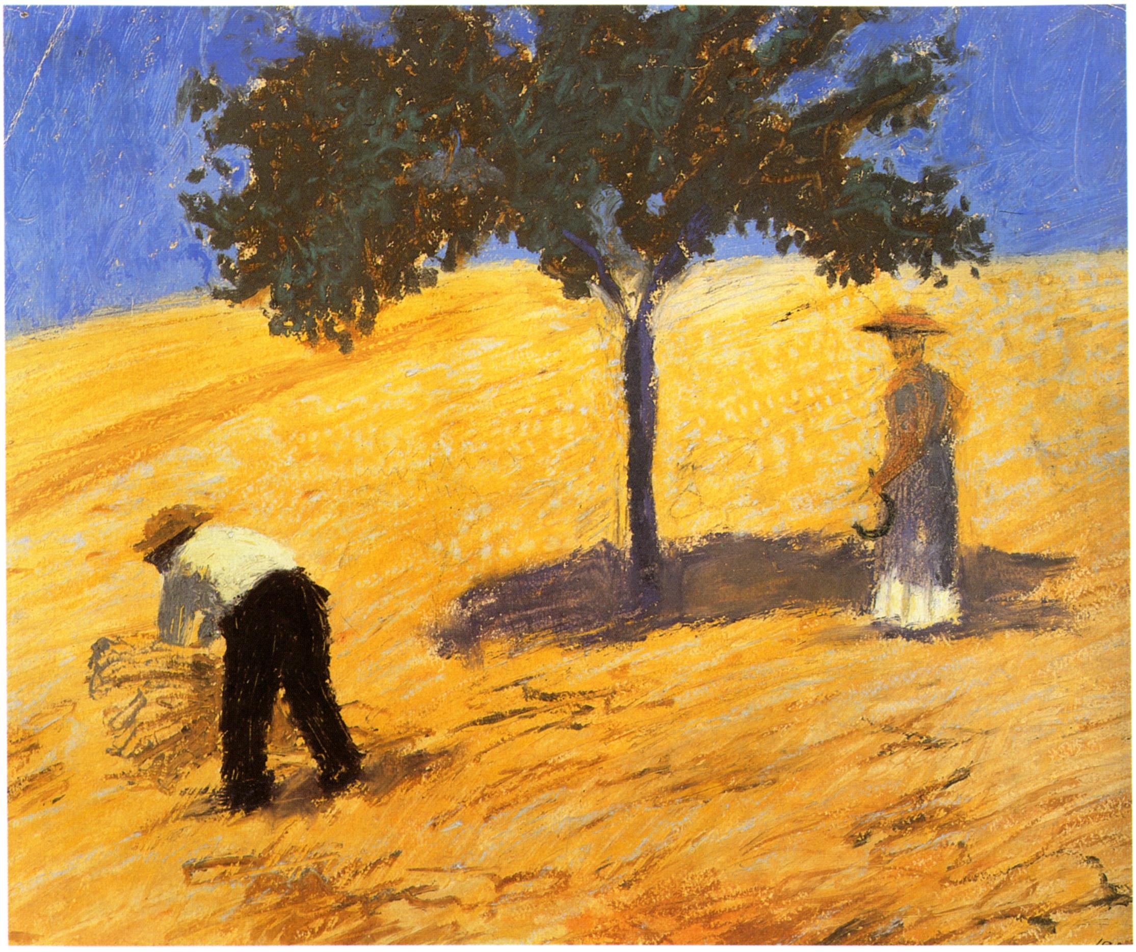 Oil Painting Corn