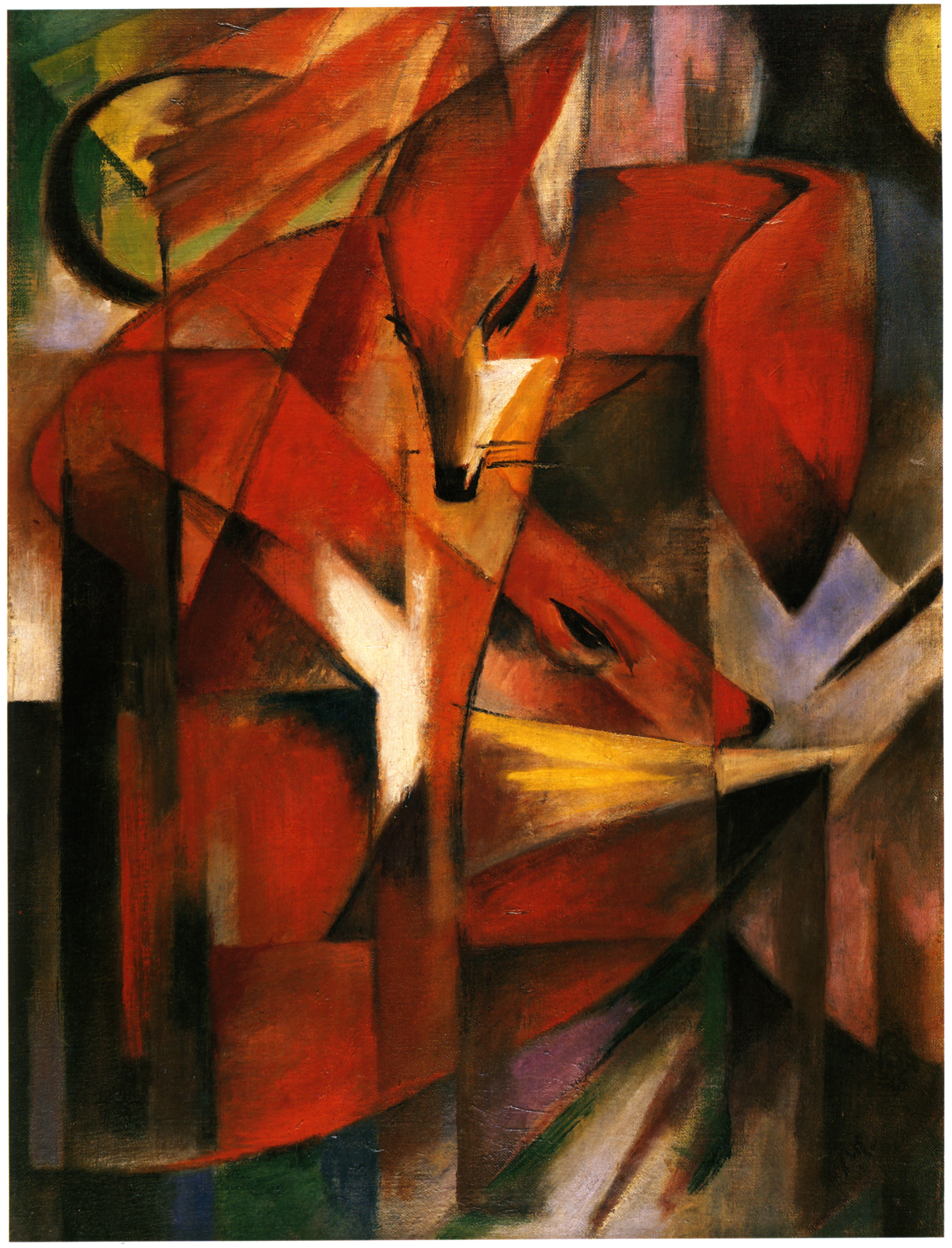 Franz Marc - Page 3 Fuechse