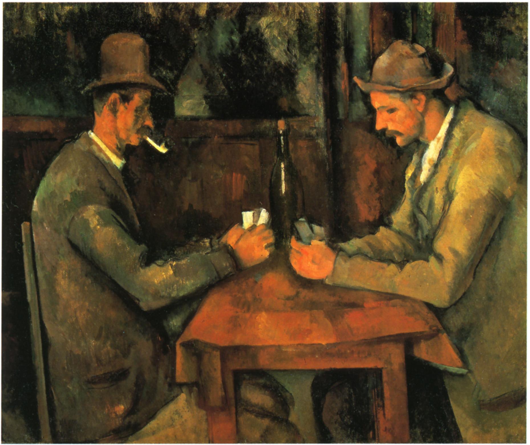 paul cÈzanne die kartenspieler