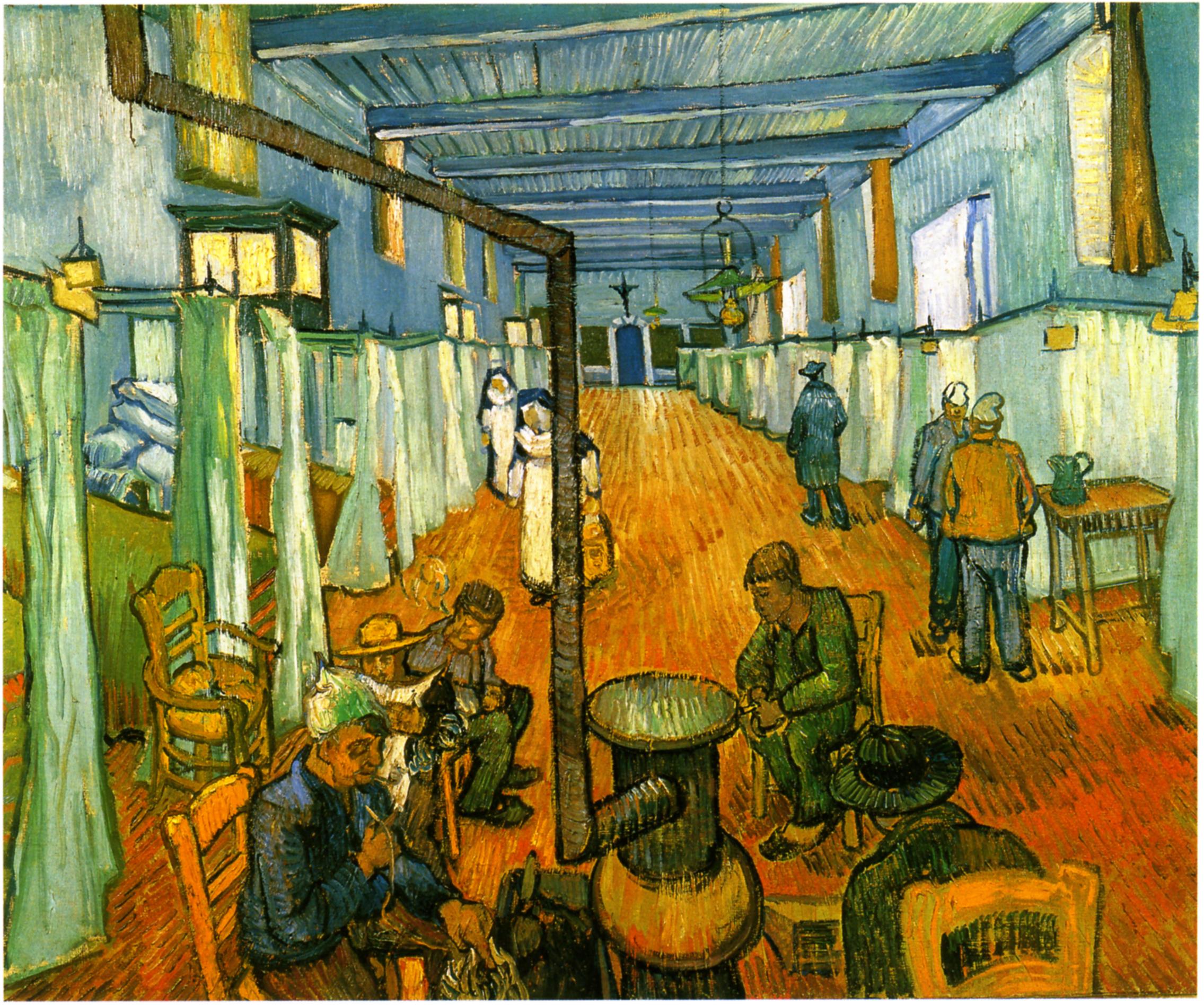 Lsungsblatt Vincent Van Gogh Rundgang Der Gefangenen Vincent Van