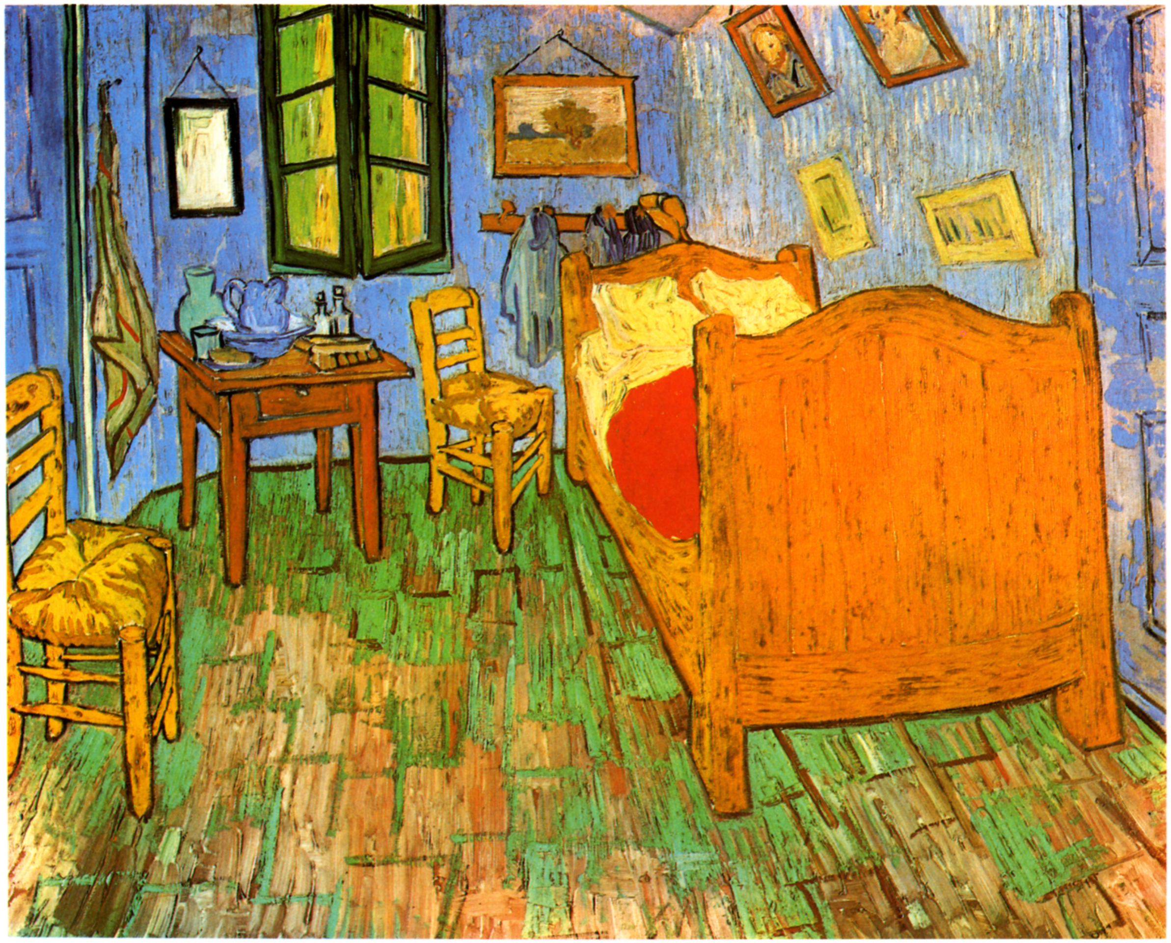 Schlafzimmer In Arles : Van Goghs Schlafzimmer in Arles