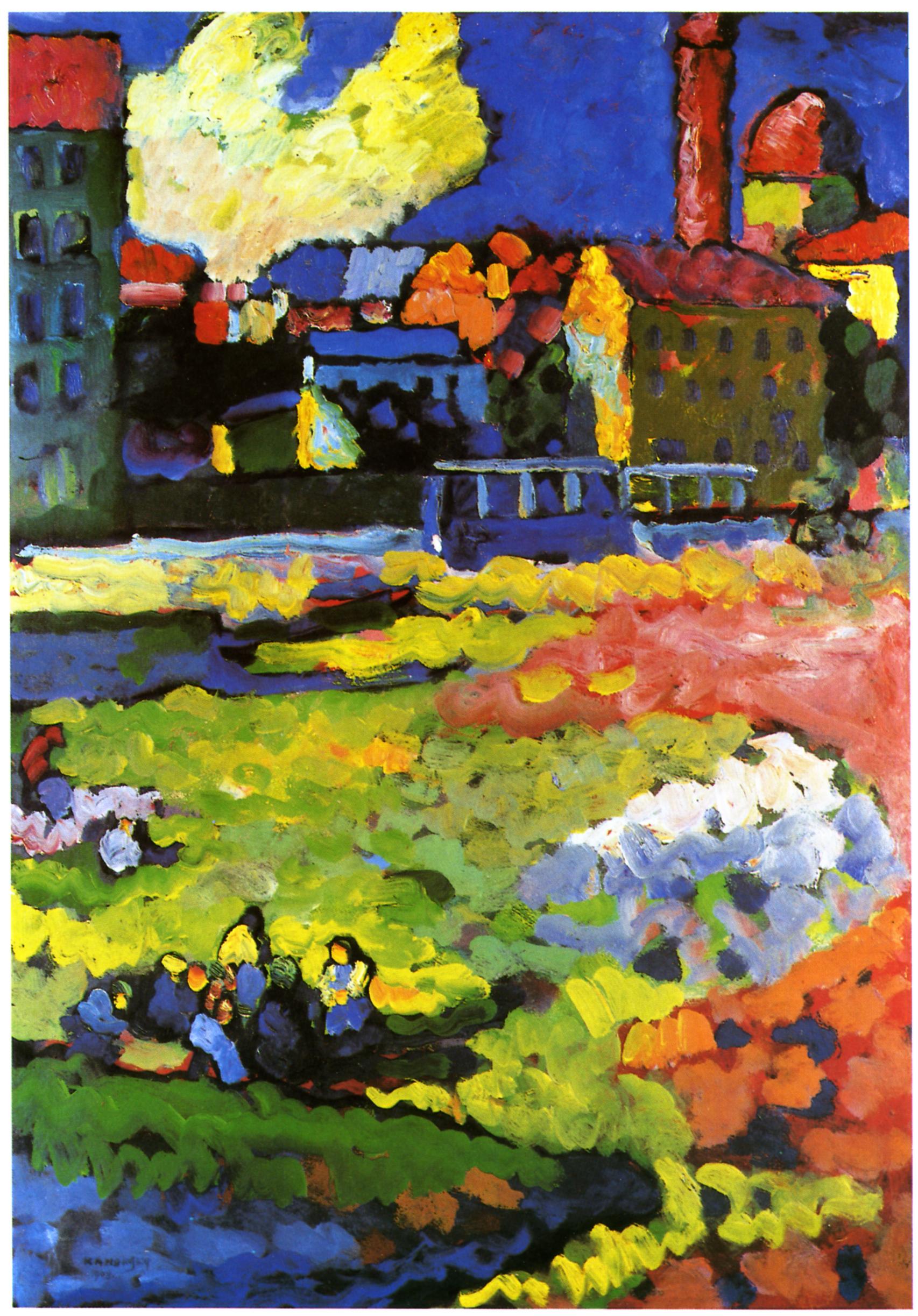 Wassily Kandinsky Auswahl Seiner Werke Gemälde Und Bilder