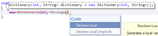 Quick-Fix mit Coderush unter Visual Studio