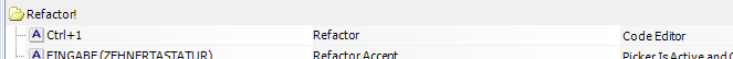 Quick-Fix-Shortcut in CodeRush